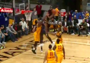 Wayne Selden's D-League Dunk Was So Nasty Even The Announcer Had To Gasp
