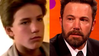 Before he was Batman, Ben Affleck acted like he understood science for a living