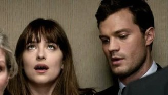 The New 'Fifty Shades Darker' Trailer Will Make You Rethink Using The Elevator