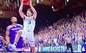 Duke's Grayson Allen Flopped So Hard That He Drew A Foul Without Anyone Touching Him