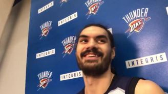 Steven Adams Gave A Great Answer When Asked About Medical Marijuana