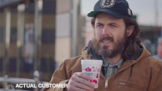Casey Affleck Goes Full Boston On 'SNL' To Give Real Dunkin Donuts Customers Some Spotlight