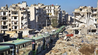Rescue Workers In Syria Claim Pro-Assad Forces Are Still Firing On Fleeing Civilians In Aleppo