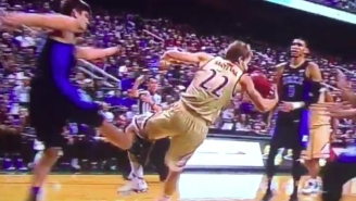 Duke's Grayson Allen Tripped Yet Another Player Then Threw An Epic Tantrum