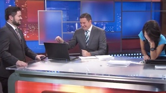 These Local News Anchors Can't Stop Laughing Over The Mention Of The Word 'Beaver'