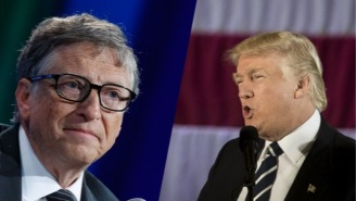 Bill Gates Talked To Donald Trump About The Importance Of Climate Change