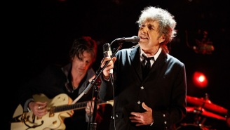 Bob Dylan Won't Attend The Nobel Banquet, But He's Still Giving Them A Speech