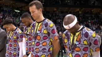 These Incredible Customized Uniforms On 'NBA 2K17' Are A Fantastic Tribute To Craig Sager