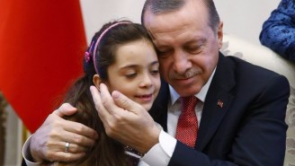 The Syrian Girl Who Tweeted From War-Torn Aleppo Met With The President Of Turkey