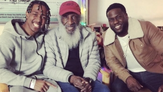 Kevin Hart And Dick Gregory Visited Nick Cannon In The Hospital Over The Holidays