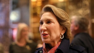 Carly Fiorina On Her Interview With Donald Trump: 'We Talked About… Purported Russian Hacking'