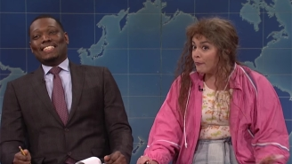 Cecily Strong Saves 'Weekend Update' On 'SNL' With The Return Of Cathy Anne