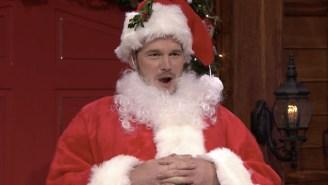 Chris Pratt Channels Santa To Play A Festive Game Of 'Mad Lib Theatre' On 'Fallon'