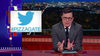 Colbert Gets Fired Up About Pizzagate And Blasts Those Responsible: 'Grow The F*ck Up'