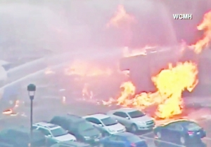 A Gas Leak Explosion Destroys A Building And Forces Evacuations In Columbus, Ohio