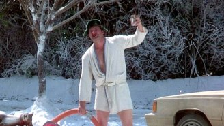 A 'Christmas Vacation' Fan Recreates Cousin Eddie's Finest Scene For A Good Cause
