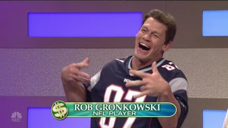 Rob Gronkowski Comes To Life Courtesy Of John Cena And 'SNL'