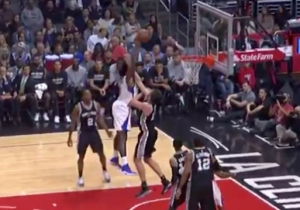 DeAndre Jordan Completely Embarrassed Pau Gasol With This Massive One-Handed Jam