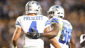Dez Bryant Tore Into 'Fake' Cowboys Fans Who Wanted The Team To Bench Dak Prescott