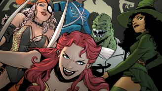 The Creative Team Of 'DC Bombshells' Talks About Creating An Alternate Universe Suicide Squad