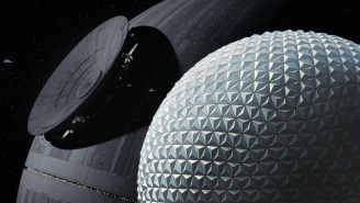 Don't Panic: Disney Is Turning Epcot's Spaceship Earth Into The Death Star Temporarily