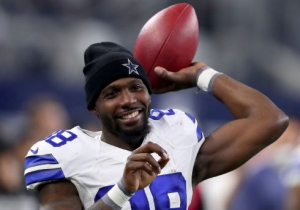 Dez Bryant Tried To Sneak Into A Cowboys QB Meeting Because Of His MNF Touchdown Pass