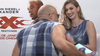 Vin Diesel Made Things Awkward By Repeatedly Hitting On A Woman Interviewing Him