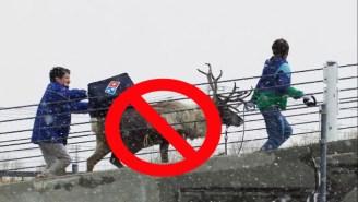 Domino's Reindeer Delivery Stunt Is No More