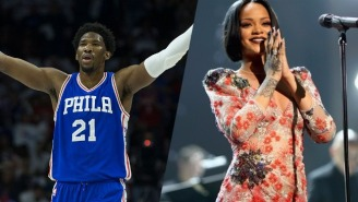 Joel Embiid Wants Your NBA All-Star Vote So He Can Finally Score A Date With Rihanna