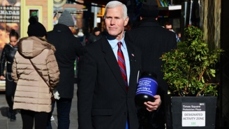 This Mike Pence Look-Alike Is Sporting Short-Shorts To Raise Money For Great Causes