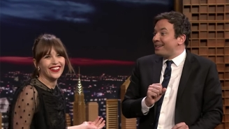 Felicity Jones Shows Off Her 'Rogue One' Fighting Skills On A Very Unprepared Jimmy Fallon