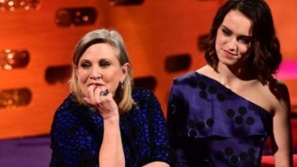 Daisy Ridley's Goodbye To Carrie Fisher Makes A 'Force Awakens' Scene Especially Poignant