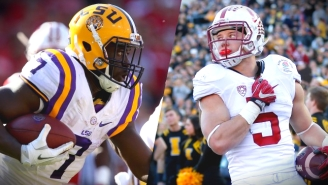 Leonard Fournette's Mic Drop On Bowl Game Critics Should End This Stupid Conversation