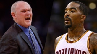 J.R. Smith Fired Some Shots At George Karl Over His 'Sad' New Book