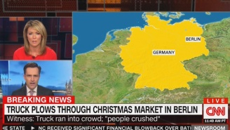 A Truck Plowed Into A Crowded German Christmas Market, Killing Multiple People And Injuring Dozens