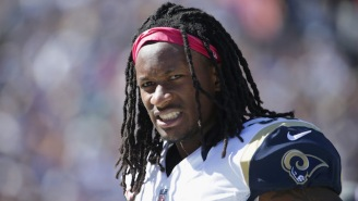 Todd Gurley Had To Pay Off An Embarrassing Bet With A Rams Teammate