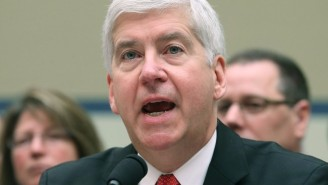 Michigan Gov. Rick Snyder Claims He's 'Not Concerned' With Being Charged In The Flint Water Crisis