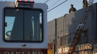 A Warehouse Fire In Oakland Is Expected To Claim Up To 40 Casualties