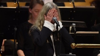 Patti Smith Fearlessly Explains Her Struggle To Perform Dylan's Song At The Nobel Prize Ceremony