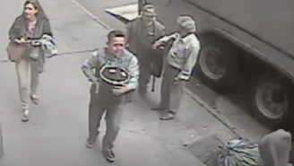 Police Identified A Suspect In The Gold Bucket Heist And The Story Somehow Got Even Better