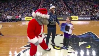 A Young Fan Was Given A PS4 And Then Had It Taken Away By A Timberwolves Grinch