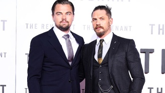 Tom Hardy Has To Get An Embarrassing Tattoo After Losing A Bet To Leonardo DiCaprio