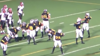 A High School Team Used The Mannequin Challenge On A Successful Two-Point Conversion
