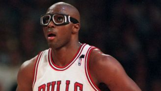 Horace Grant Didn't Always Need Those Goggles, But He Kept Wearing Them For The Kids