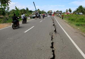 A Magnitude 6.5 Earthquake Rocked The Indonesian Island Of Sumatra Early Wednesday, Killing Dozens