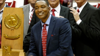 Isiah Thomas Trolled UNC And Michael Jordan After Indiana's Big Win