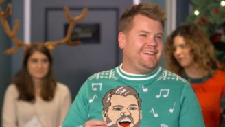 Things Get Awkward At James Corden's 'The Late Late Show' Gift Exchange