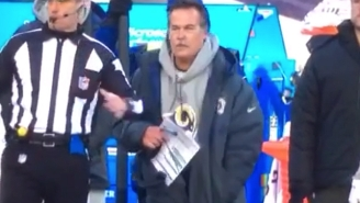 Jeff Fisher's Inability To Pull A Challenge Flag From His Pocket Is Some 7-9 Bullsh*t