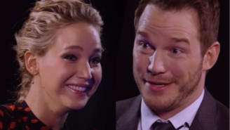 Jennifer Lawrence Completely Loses It After Chris Pratt's Amazing Sex Scene Insult