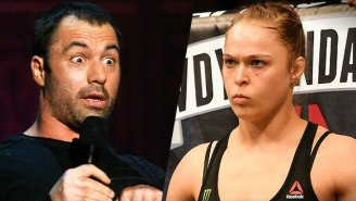 Joe Rogan Questions The UFC's 'Bizarre' Ads For Ronda Rousey's Next Fight